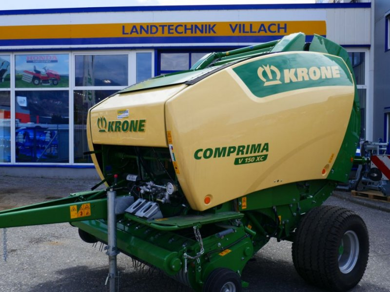 Rundballenpresse типа Krone Comprima V 150 XC, Gebrauchtmaschine в Villach (Фотография 1)