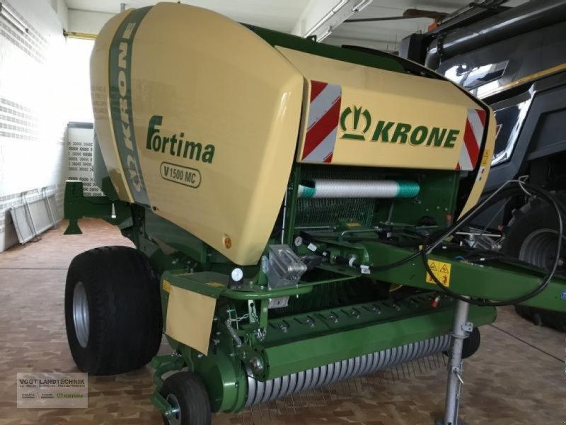Rundballenpresse a típus Krone Fortima V 1500 MC, Neumaschine ekkor: Bodenkirchen (Kép 1)