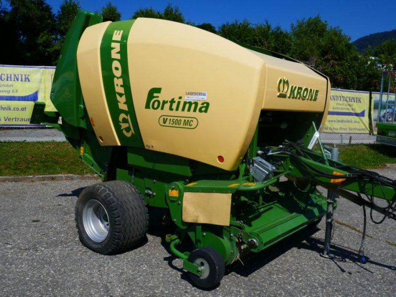 Rundballenpresse des Typs Krone Fortima V 1500 MC, Gebrauchtmaschine in Villach (Bild 1)