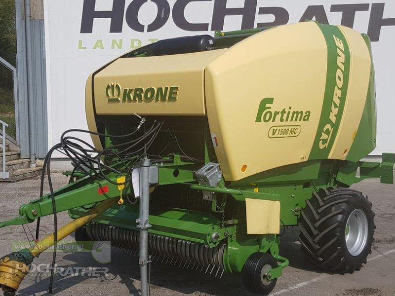 Rundballenpresse des Typs Krone Fortima V 1500 MC, Gebrauchtmaschine in Kronstorf (Bild 1)