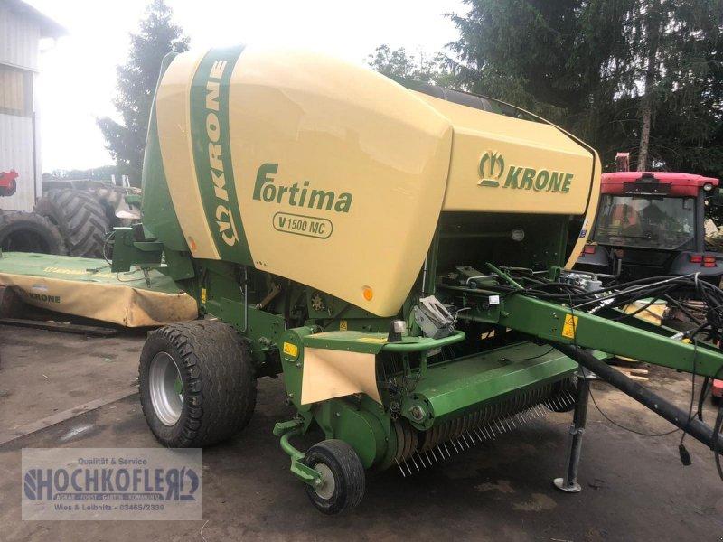 Rundballenpresse des Typs Krone Fortima V1500 MC, Gebrauchtmaschine in Wies (Bild 1)