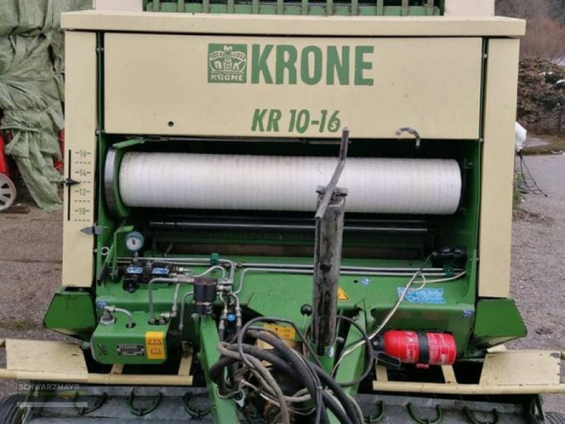 Rundballenpresse a típus Krone KR 10-16 S, Gebrauchtmaschine ekkor: Aurolzmünster (Kép 1)