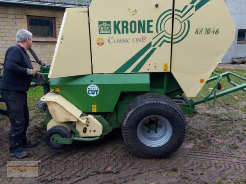Rundballenpresse типа Krone KR 10 - 16, Gebrauchtmaschine в Böklund (Фотография 1)