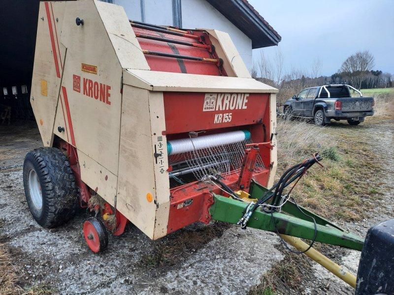 Rundballenpresse des Typs Krone KR 155, Gebrauchtmaschine in Weilheim i.OB (Bild 1)