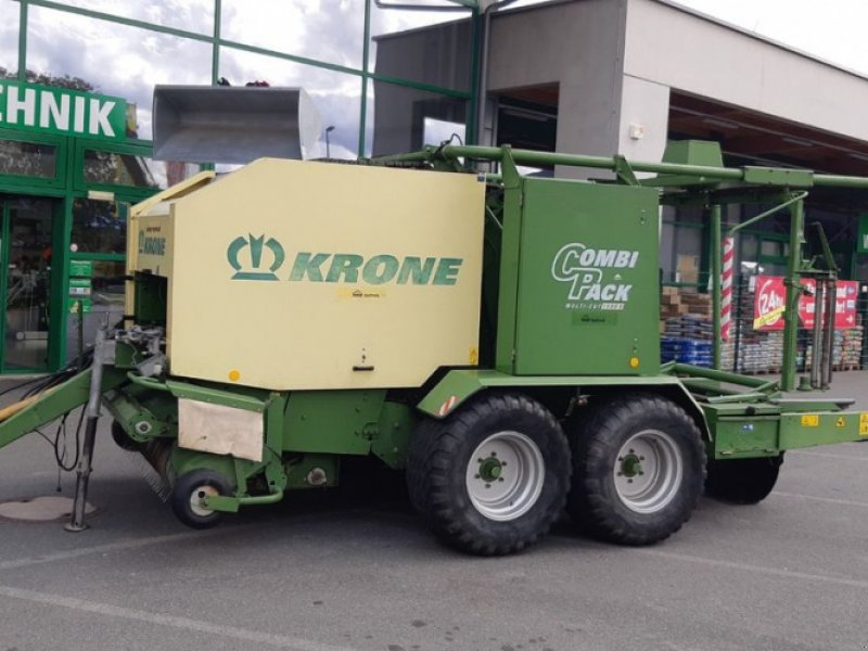 Rundballenpresse типа Krone Press-Wickelkombi Combipack 1500V, Gebrauchtmaschine в Tamsweg (Фотография 1)