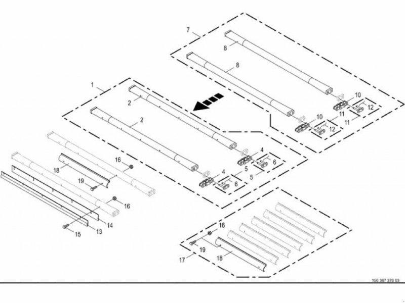 Rundballenpresse des Typs Krone Rollboden hinten, 47 Leisten Fortima, Gebrauchtmaschine in Villach (Bild 1)