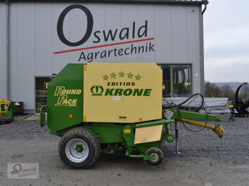 Rundballenpresse des Typs Krone Round Pack 1250 MC, Gebrauchtmaschine in Iggensbach (Bild 1)