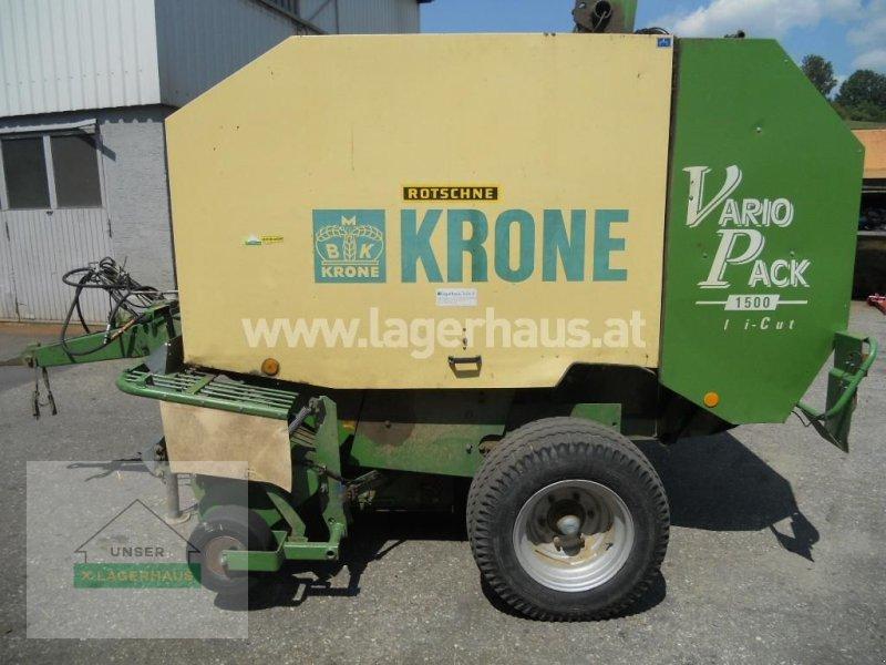 Rundballenpresse des Typs Krone VARIO PACK 1500 MC, Gebrauchtmaschine in Ottensheim (Bild 1)