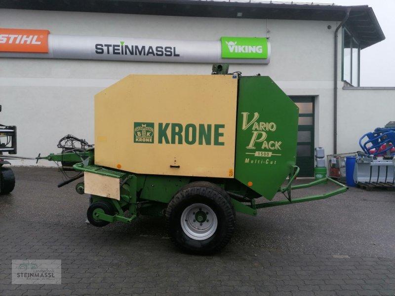 Rundballenpresse des Typs Krone Vario Pack 1500, Gebrauchtmaschine in Petting (Bild 1)