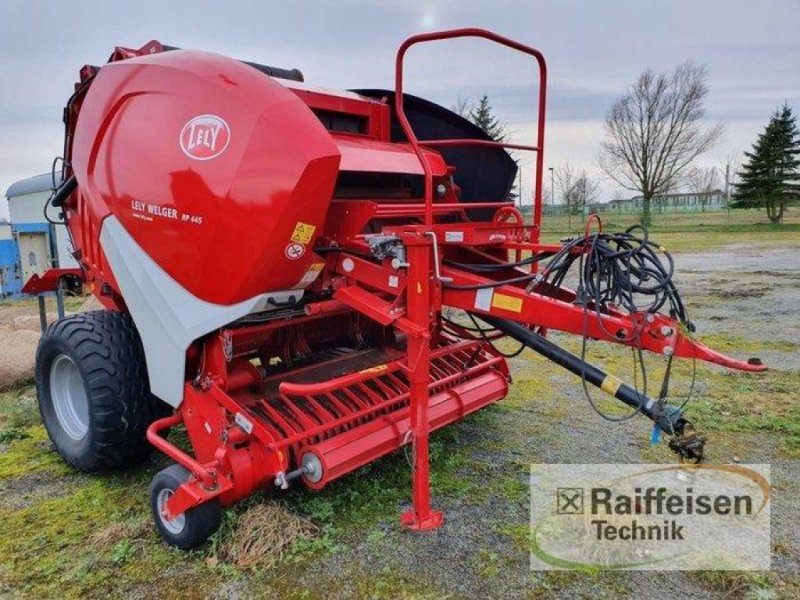 Rundballenpresse типа Lely Welger RP 445, Gebrauchtmaschine в Kruckow (Фотография 1)
