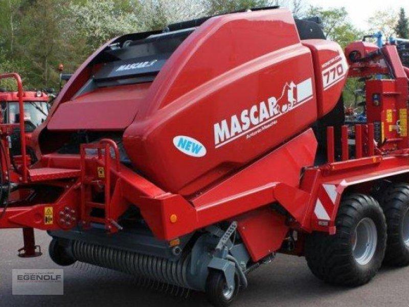 Rundballenpresse типа Mascar Monster Cut 770 mit Göweil Wickeleinheit Miete möglich, Gebrauchtmaschine в Beselich-Obertiefenbach (Фотография 1)