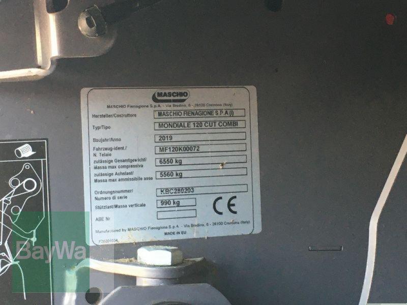 Rundballenpresse des Typs Maschio MONDIALE 120 COMBI ULTRACUT MA, Vorführmaschine in Lupburg (Bild 8)