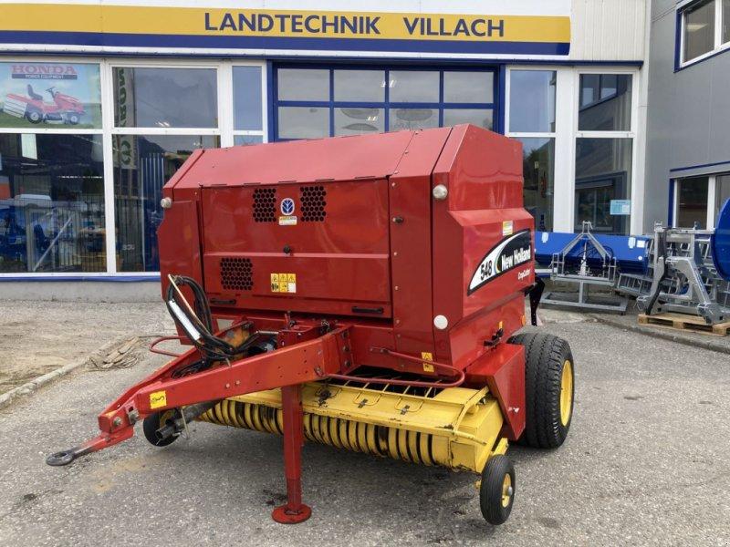 Rundballenpresse des Typs New Holland 548 CC, Gebrauchtmaschine in Villach (Bild 1)