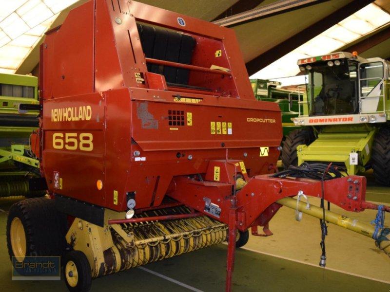 Rundballenpresse typu New Holland 658 Cropcutter, Gebrauchtmaschine v Bremen (Obrázok 3)