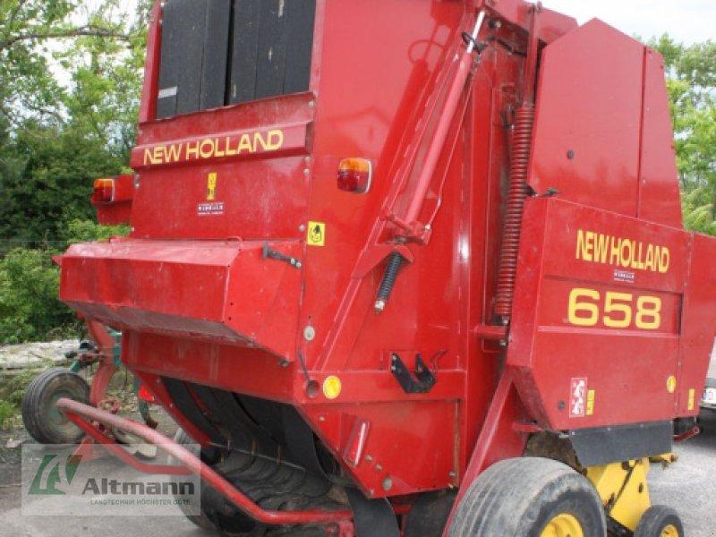 Rundballenpresse des Typs New Holland 658 CropCutter, Gebrauchtmaschine in Wiener Neustadt (Bild 1)