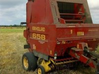 New Holland 658, Rundballepresser. Rundballenpresse