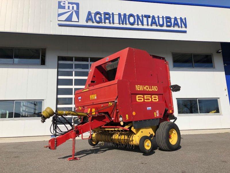 Rundballenpresse des Typs New Holland 658, Gebrauchtmaschine in Montauban (Bild 1)