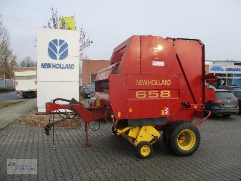 Rundballenpresse des Typs New Holland 658, Gebrauchtmaschine in Altenberge (Bild 1)