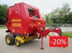 Rundballenpresse des Typs New Holland 658 in Wildenau
