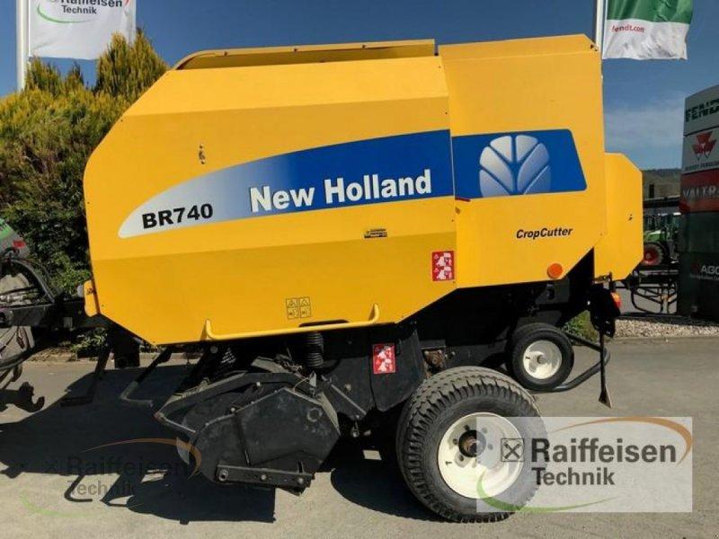 Rundballenpresse des Typs New Holland BR 740 CropCutter, Gebrauchtmaschine in Linsengericht - Altenhaßlau (Bild 1)