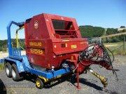 Rundballenpresse des Typs New Holland NH 658 + Göweil, Gebrauchtmaschine in Rhaunen