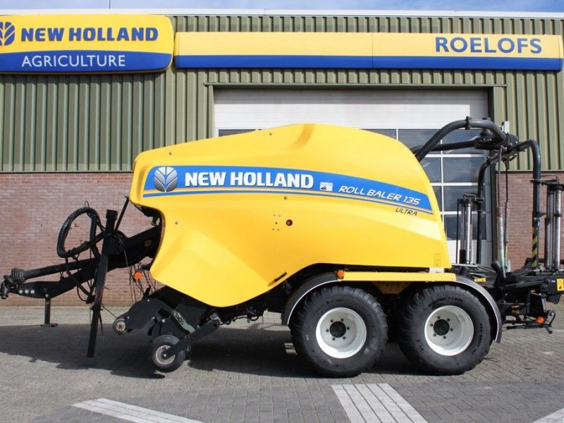 Rundballenpresse типа New Holland Roll Baler 135 Ultra, Gebrauchtmaschine в BENNEKOM (Фотография 7)