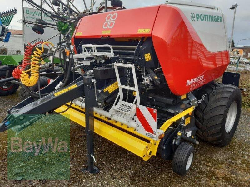 Rundballenpresse des Typs Pöttinger IMPRESS 125 F PRO PÖTTINGER RU, Neumaschine in Mindelheim (Bild 1)