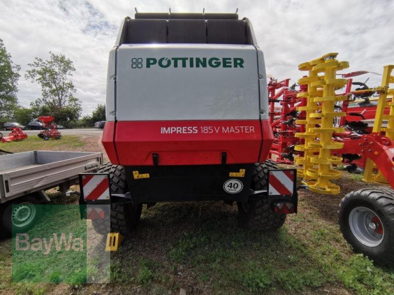 Rundballenpresse des Typs Pöttinger IMPRESS 185 V MASTER PÖTTINGER, Vorführmaschine in Oberschöna (Bild 3)
