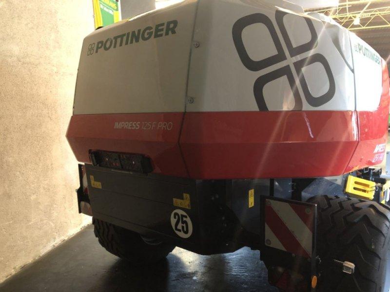 Rundballenpresse des Typs Pöttinger Rundballenpresse Impress 125 F pro, Gebrauchtmaschine in Bergheim (Bild 6)