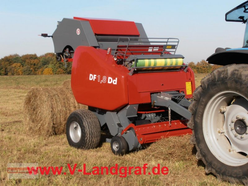 Rundballenpresse tip Unia DF 1,8 Dd, Neumaschine in Ostheim/Rhön (Poză 1)