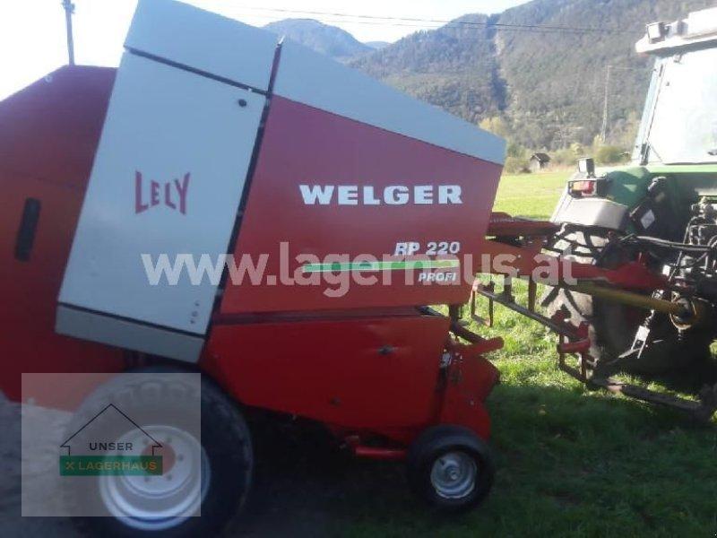 Rundballenpresse типа Welger 220 PROFI, Gebrauchtmaschine в Schlitters (Фотография 1)