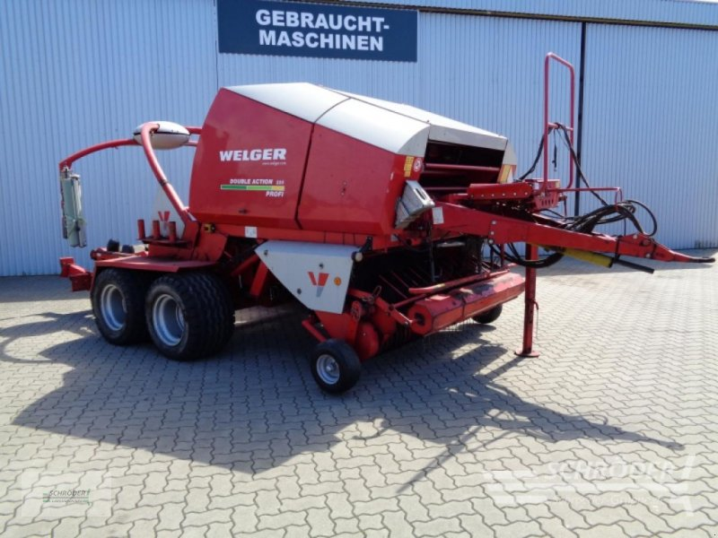 Rundballenpresse des Typs Welger DOUBLE ACTION RP 220, Gebrauchtmaschine in Ahlerstedt (Bild 1)