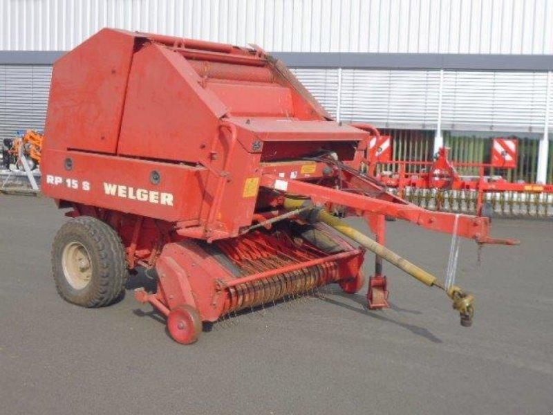 Rundballenpresse des Typs Welger RP 15 S, Gebrauchtmaschine in Grimma (Bild 1)