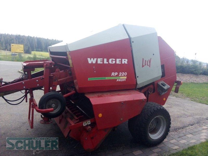 Rundballenpresse a típus Welger RP 220 Profi, Gebrauchtmaschine ekkor: St. Märgen (Kép 3)