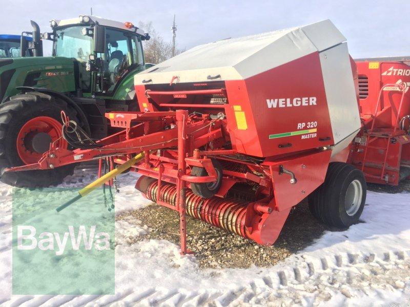 Rundballenpresse des Typs Welger RP 320 Master >> erst 12300 Ballen!!, Gebrauchtmaschine in Dinkelsbühl (Bild 1)