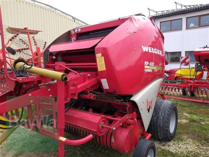 Rundballenpresse des Typs Welger RP 420 Farmer, Gebrauchtmaschine in Schwäbisch Gmünd - H (Bild 1)