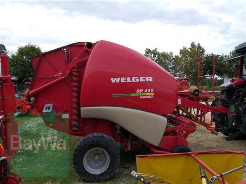Rundballenpresse des Typs Welger RP 420 Farmer, Gebrauchtmaschine in Schwäbisch Gmünd - H (Bild 2)