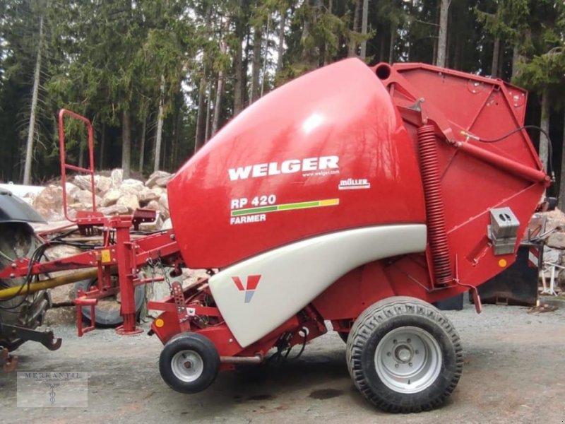 Rundballenpresse des Typs Welger RP 420 Farmer, Gebrauchtmaschine in Pragsdorf (Bild 1)