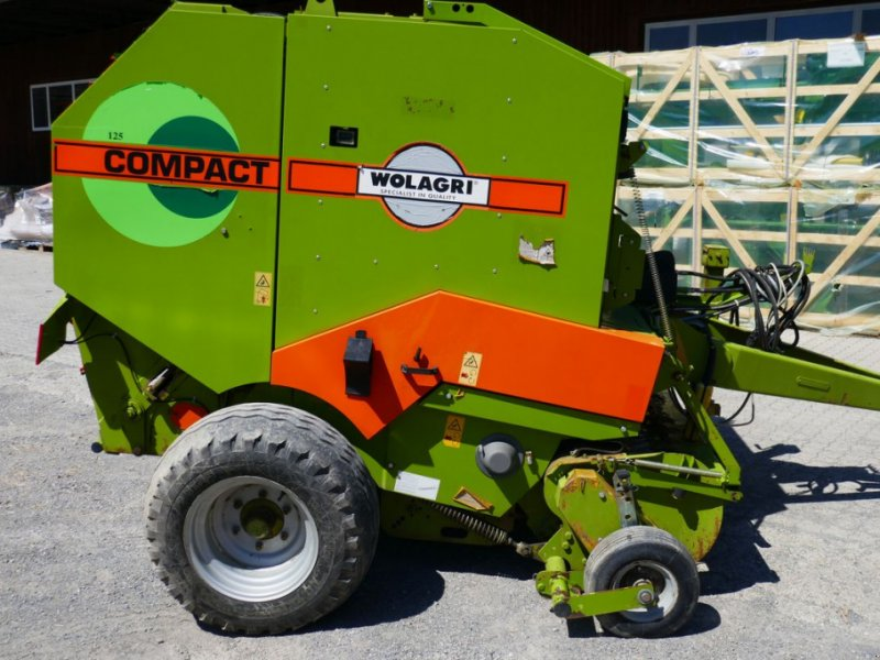 Rundballenpresse des Typs Wolagri Compact 125, Gebrauchtmaschine in Villach (Bild 1)
