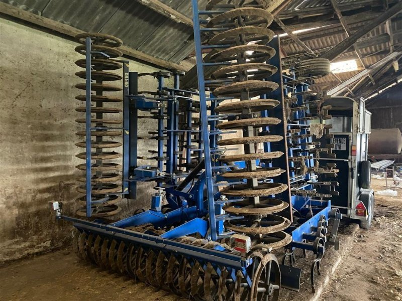 Saatbettkombination/Eggenkombination a típus Dalbo CULTILIFT 700 Hydraulisk Crossboard, slæbeplanke bagerst, Gebrauchtmaschine ekkor: Kjellerup (Kép 1)