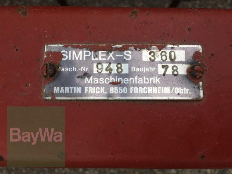 Saatbettkombination/Eggenkombination des Typs Frick Simplex S 360, Gebrauchtmaschine in Obertraubling (Bild 12)