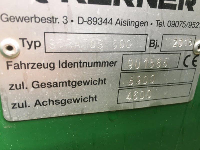 Saatbettkombination/Eggenkombination typu Kerner Stratos 500, Gebrauchtmaschine v Plau am See / OT Klebe (Obrázok 6)