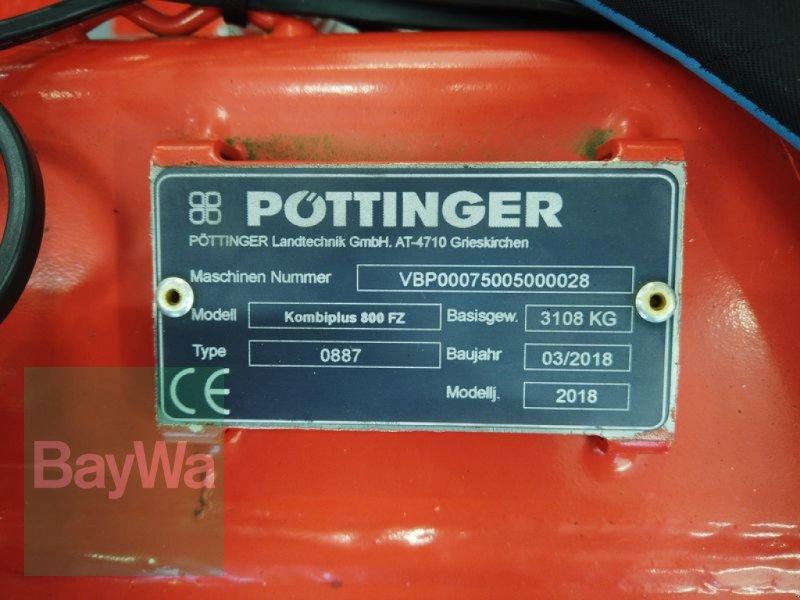 Saatbettkombination/Eggenkombination des Typs Pöttinger KOMBIPLUS 800, Gebrauchtmaschine in Manching (Bild 11)
