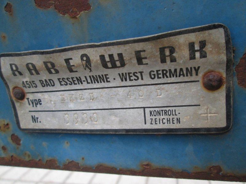Saatbettkombination/Eggenkombination des Typs Rabe EKZ 4, Gebrauchtmaschine in Wülfershausen an der Saale (Bild 8)