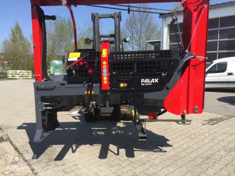 Sägeautomat & Spaltautomat des Typs Palax KS 35 Ergo, Neumaschine in Regen (Bild 1)