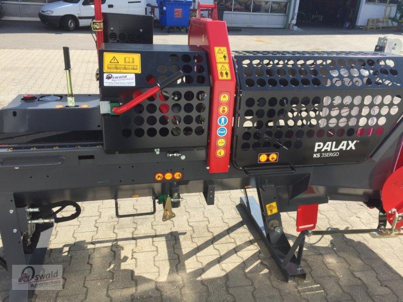 Sägeautomat & Spaltautomat des Typs Palax KS 35 Ergo, Neumaschine in Regen (Bild 3)