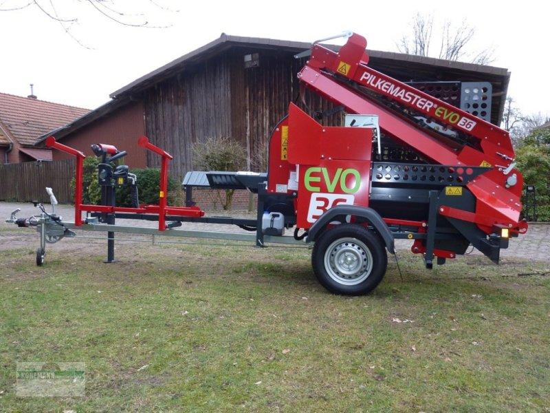 Sägeautomat & Spaltautomat des Typs Pilkemaster EVO 36 Mobil, Neumaschine in Neuenkirchen (Bild 1)