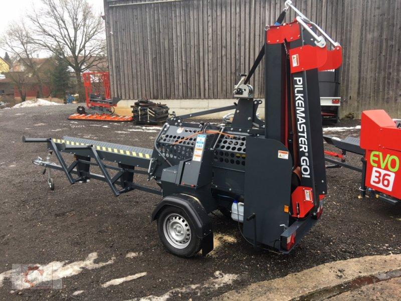 Sägeautomat & Spaltautomat des Typs Pilkemaster GO 30cm 14PS Förderband Stammheber, Neumaschine in Tiefenbach (Bild 4)