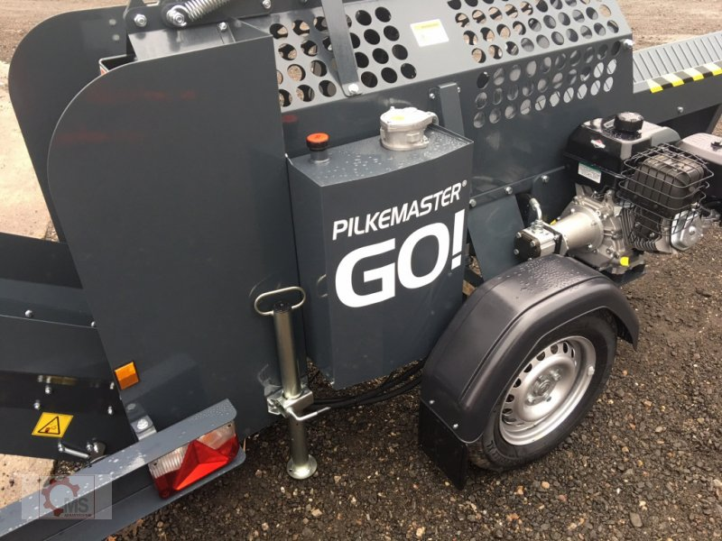 Sägeautomat & Spaltautomat des Typs Pilkemaster GO 30cm 14PS Förderband Stammheber, Neumaschine in Tiefenbach (Bild 8)