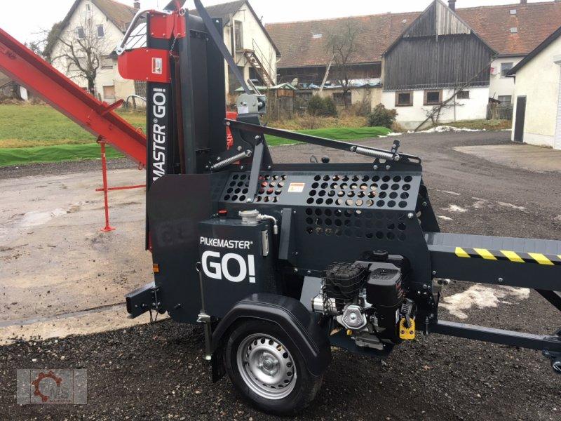 Sägeautomat & Spaltautomat des Typs Pilkemaster GO 30cm 14PS Förderband Stammheber, Neumaschine in Tiefenbach (Bild 18)